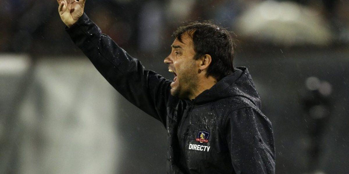 La continuidad de Sierra en Colo Colo queda en entredicho tras el fracaso en la Libertadores