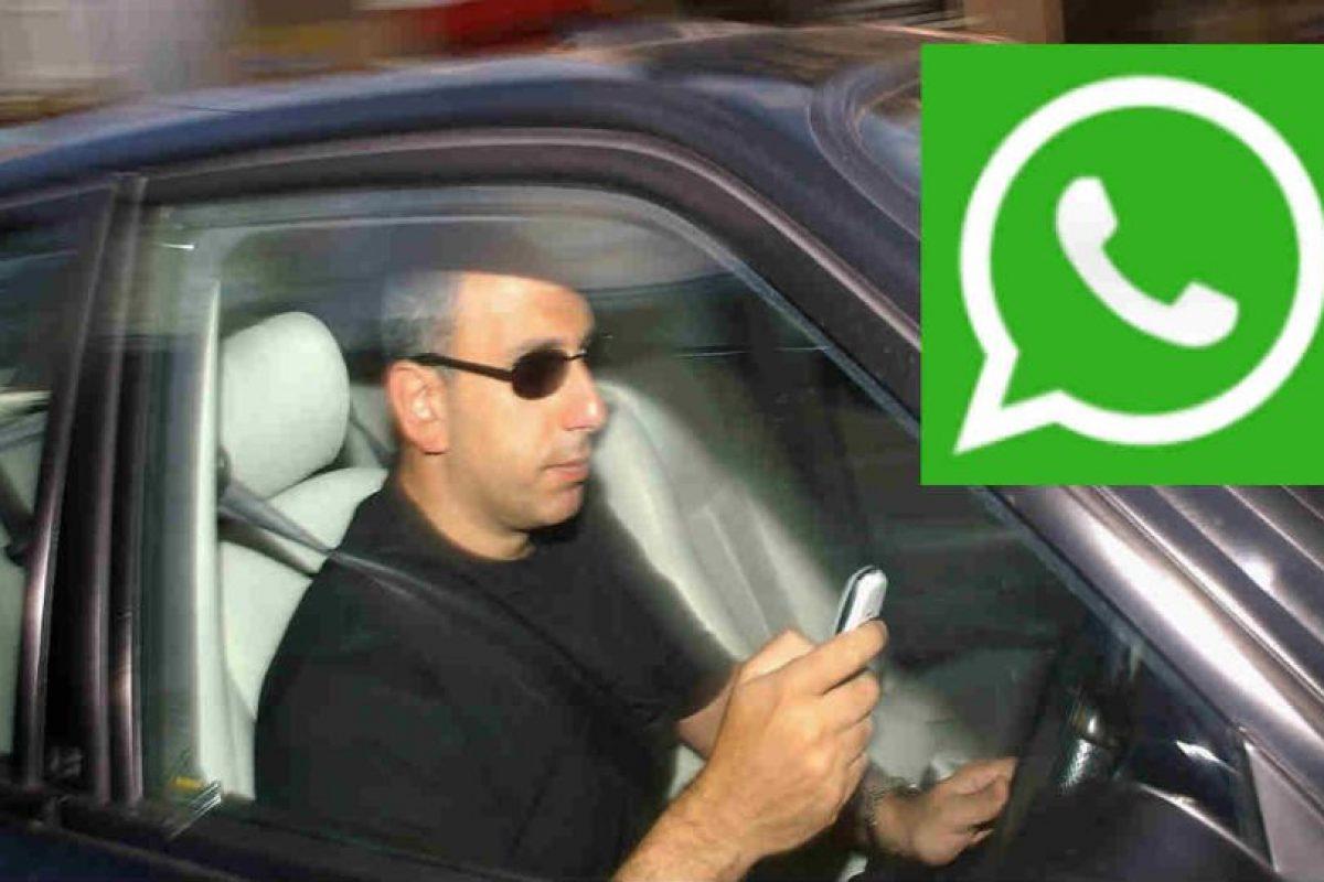 El 80% de los accidentes en el mundo se deben a distracciones al conducir. Foto:WhatsApp/Getty Images. Imagen Por: