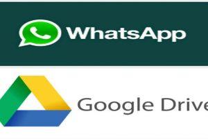 Google Drive es un servicio de la nube. Foto:WhatsApp/ Google Drive. Imagen Por: