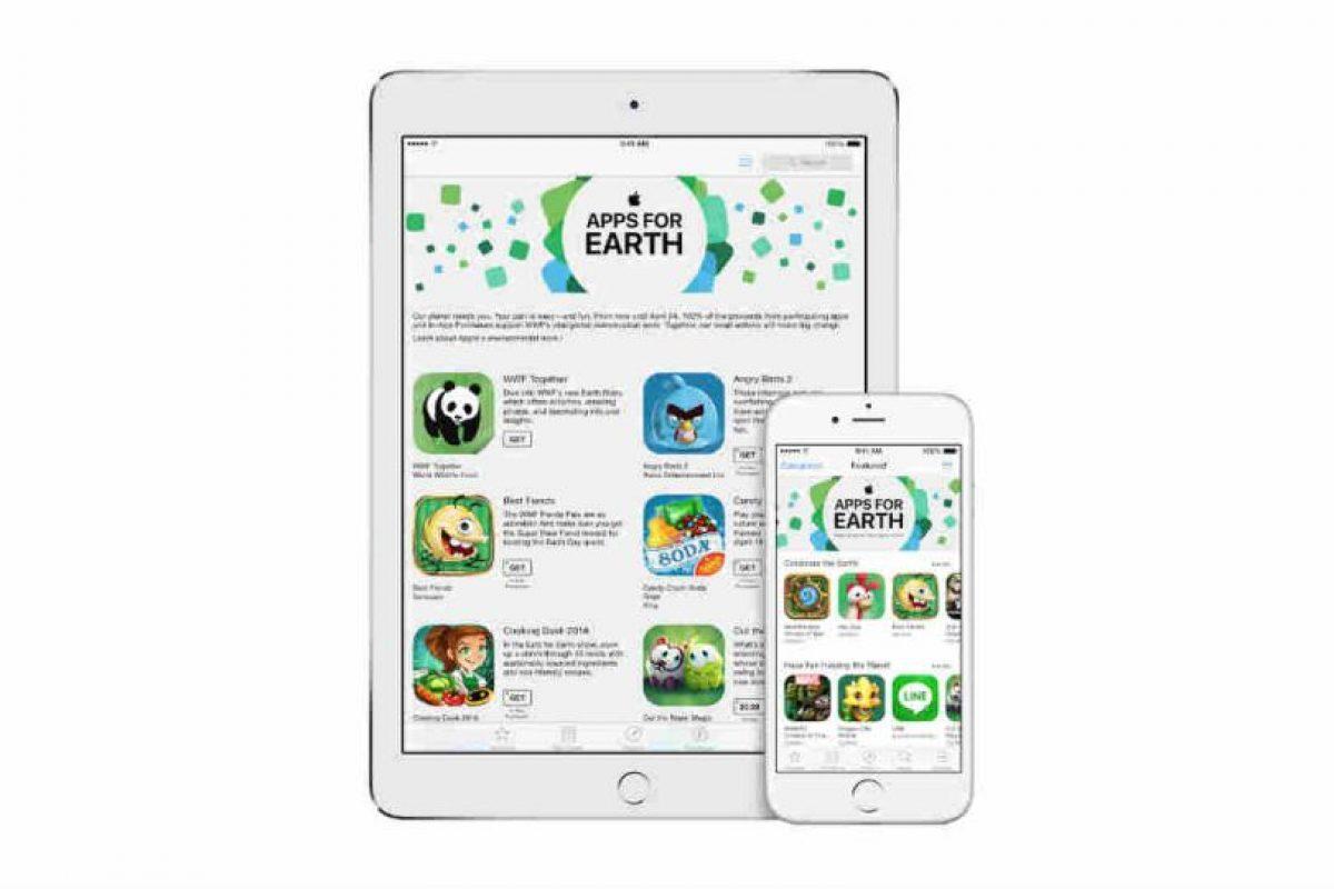 Ayuda también a especies en extinción. Foto:Apple. Imagen Por: