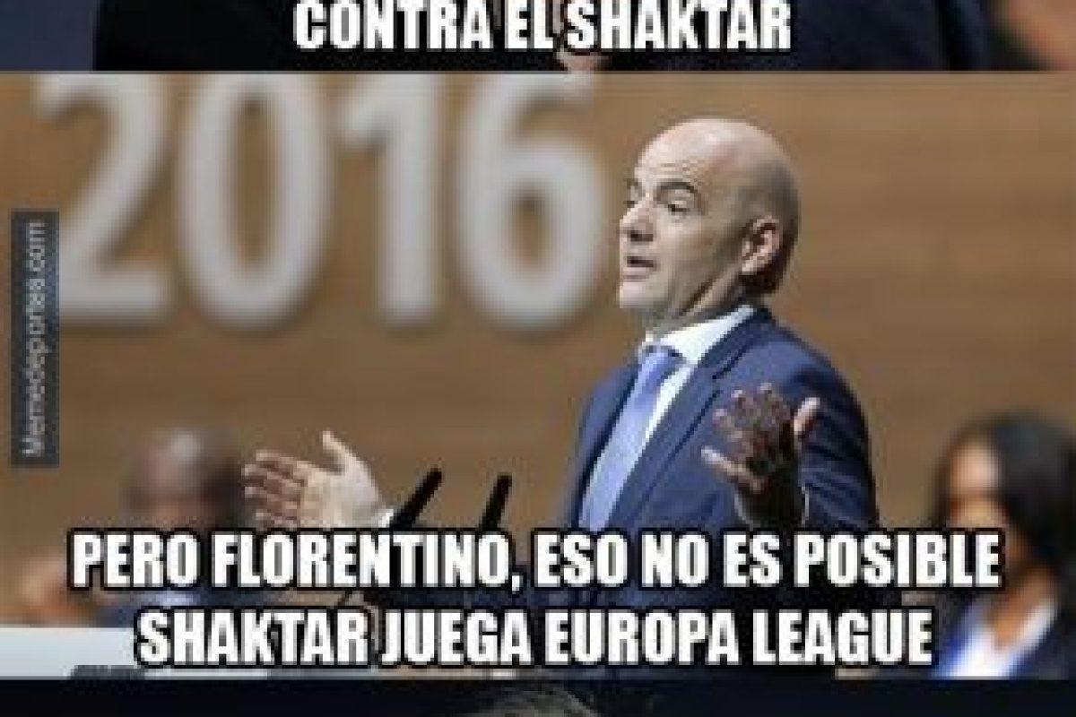 """Y el supuesto """"apoyo"""" de la UEFA a los """"merengues"""" ya son recurrentes. Foto:memedeportes.com. Imagen Por:"""