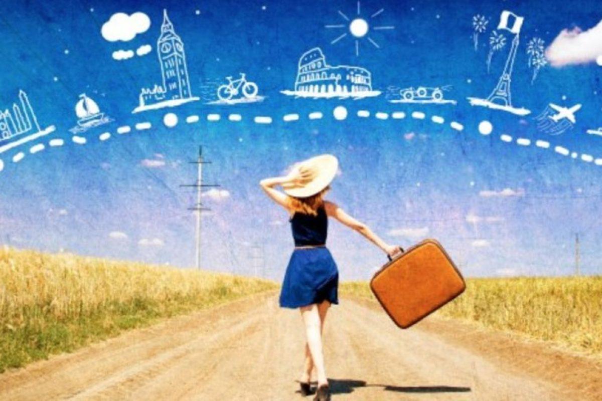 Las personas con constante búsqueda por viajar, siempre se sienten interesados por crecer de manera personal. Foto:Vía tumblr. Imagen Por: