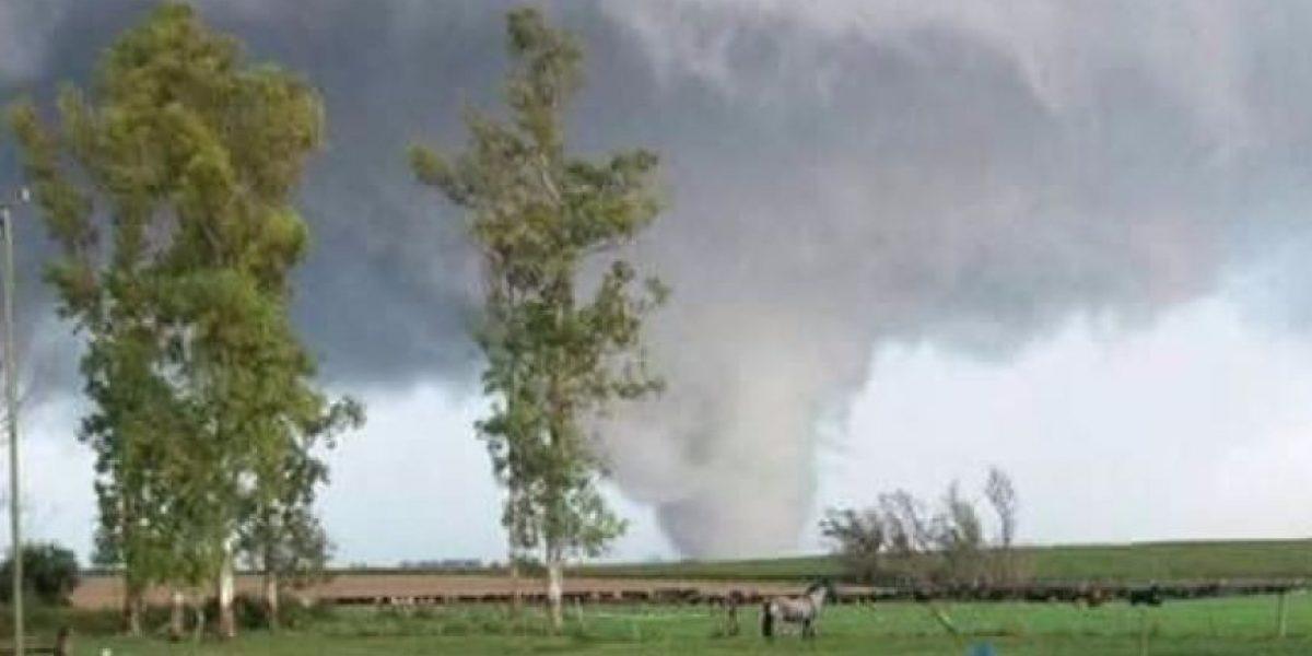 Tornado deja tres muertos y cerca de 200 heridos en el oeste de Uruguay