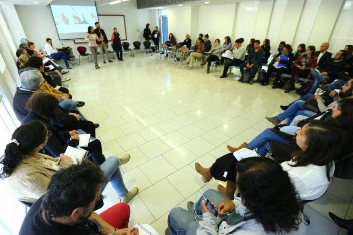 Facilitadores de diálogos ciudadanos. Foto:Agencia Uno. Imagen Por: