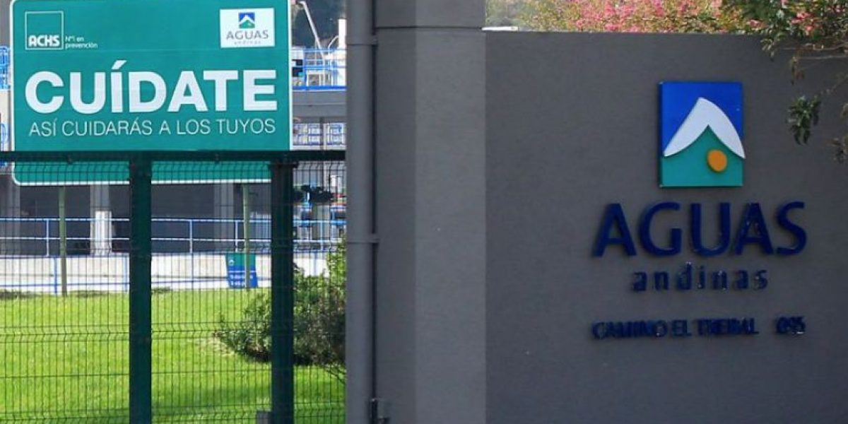 Aguas Andinas anuncia corte de agua no programado en 27 comunas de la RM