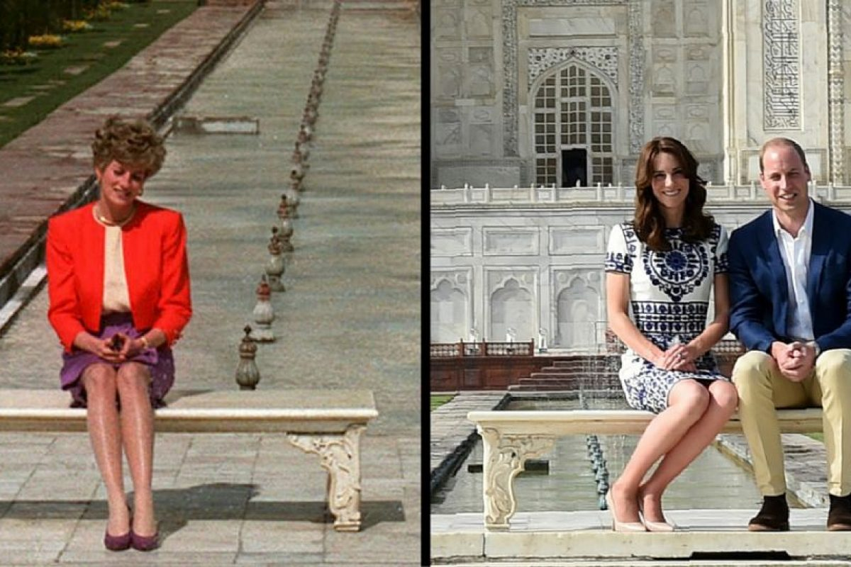Kate Middleton y el Príncipe William, tras los pasos de la Princesa Diana Foto:AP. Imagen Por:
