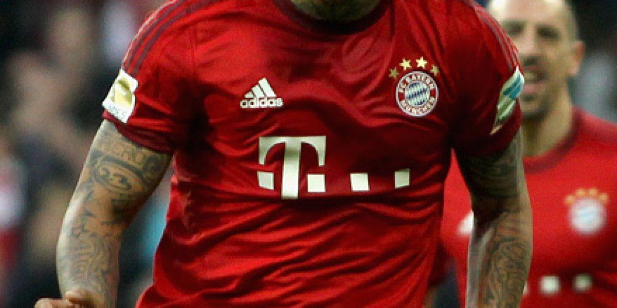 Arturo Vidal se prueba la corona: Bayern Munich derrotó al Schalke y se acerca al título