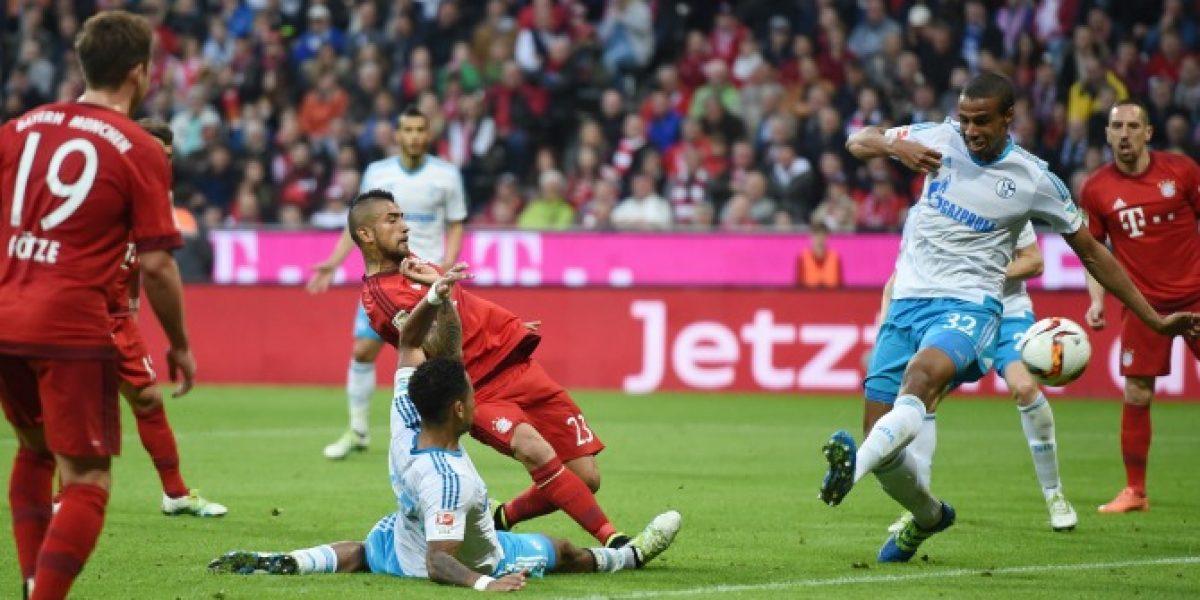 El Rey está imparable: Vidal liquidó el partido y el Bayern se prueba la corona
