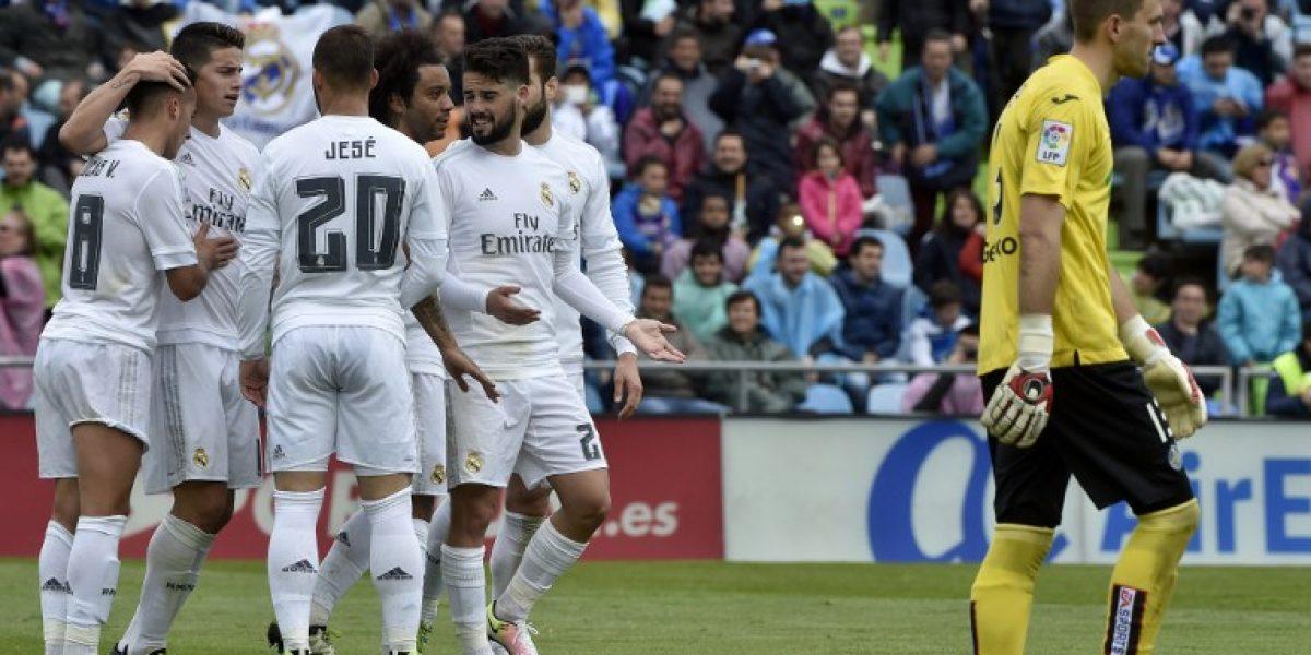 La Liga al rojo vivo: Real Madrid goleó al colista Getafe y mete más presión al Barcelona