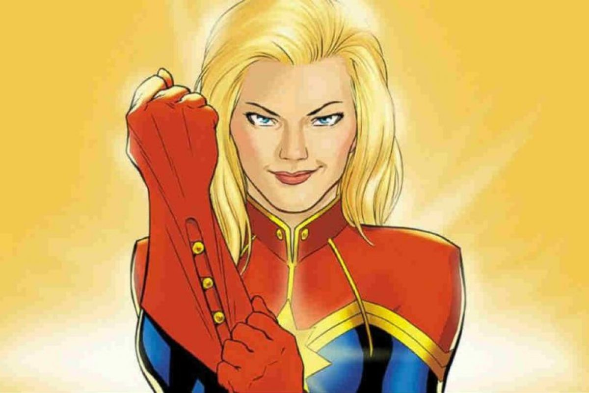 """Captain Marvel"". Marzo 8, 2019. Foto:Marvel. Imagen Por:"