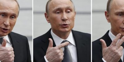 Putin declara sueldo