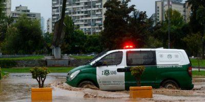 Balance de puntos críticos en la RM por la lluvia