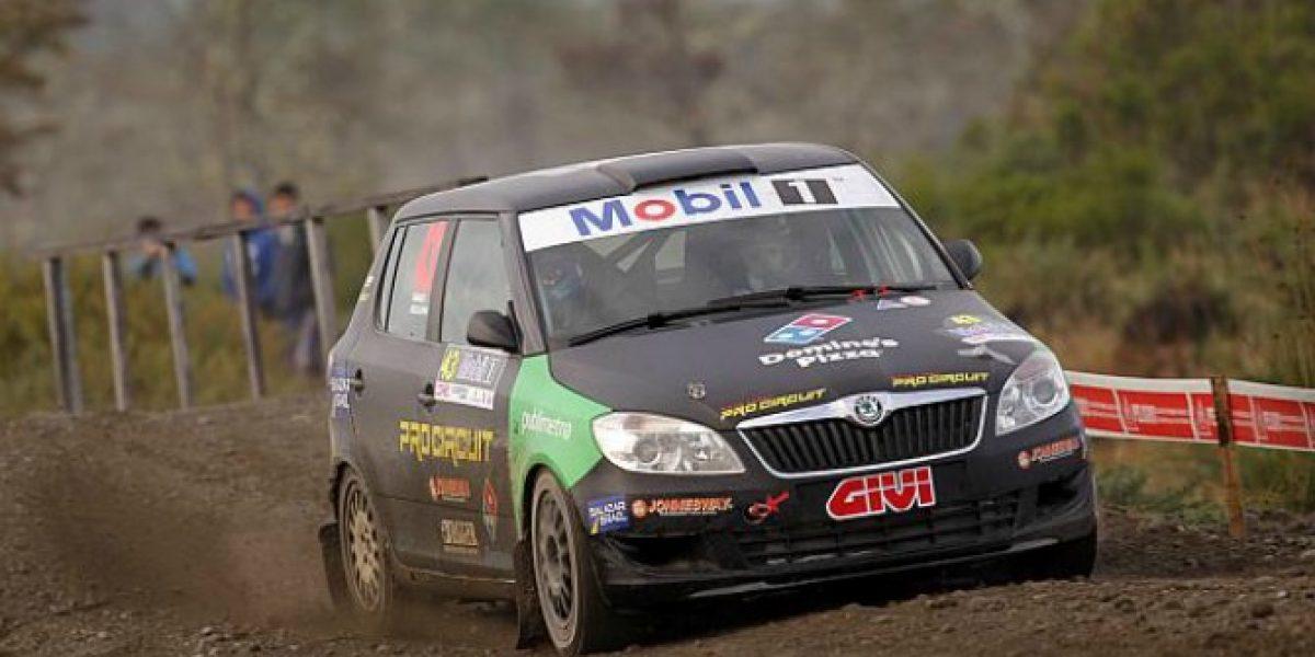 La suerte no acompañó a Samuel Israel y Eduardo Kovacs y abandonaron en el RallyMobil