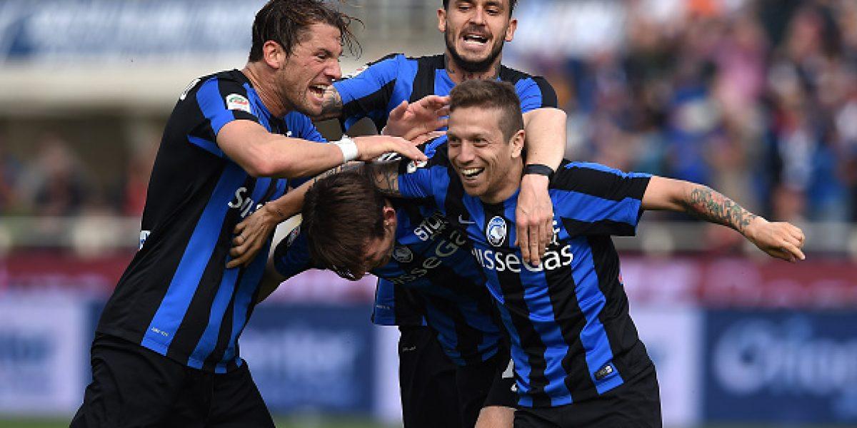 Seis minutos para Pinilla: El delantero estuvo presente en empate del Atalanta