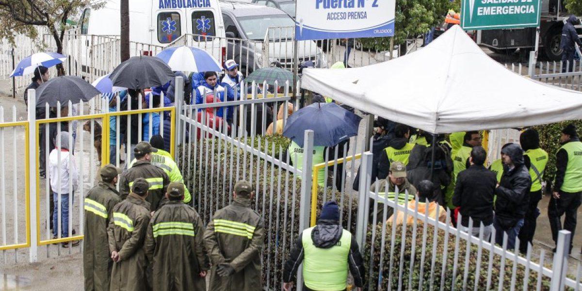 El sacrificado viaje de hinchas de Temuco para ver el clásico universitario suspendido