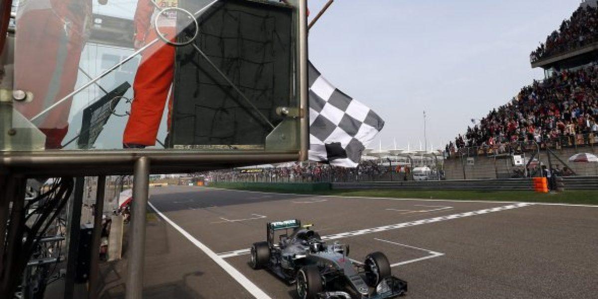 Nico Rosberg sigue intratable: gana el GP de China y se afianza como líder de la F-1