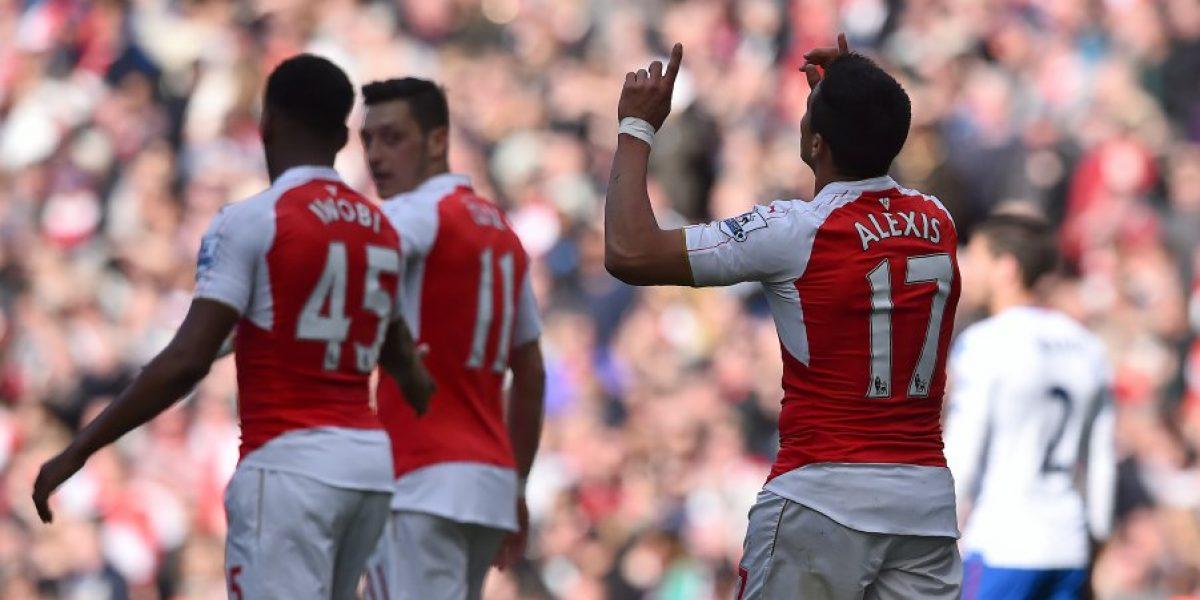 El gol de Alexis no alcanzó: Arsenal empató y se despide del titulo de la Premier League
