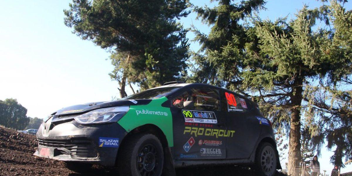 Benjamín Israel se subió al podio en la primera fecha del RallyMobil