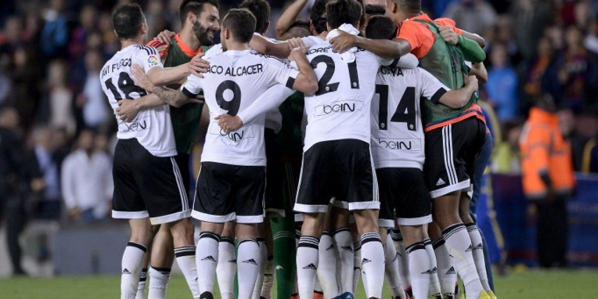 Bravo no lo pudo evitar: Barcelona perdió con Valencia y comparte la cima de la Liga