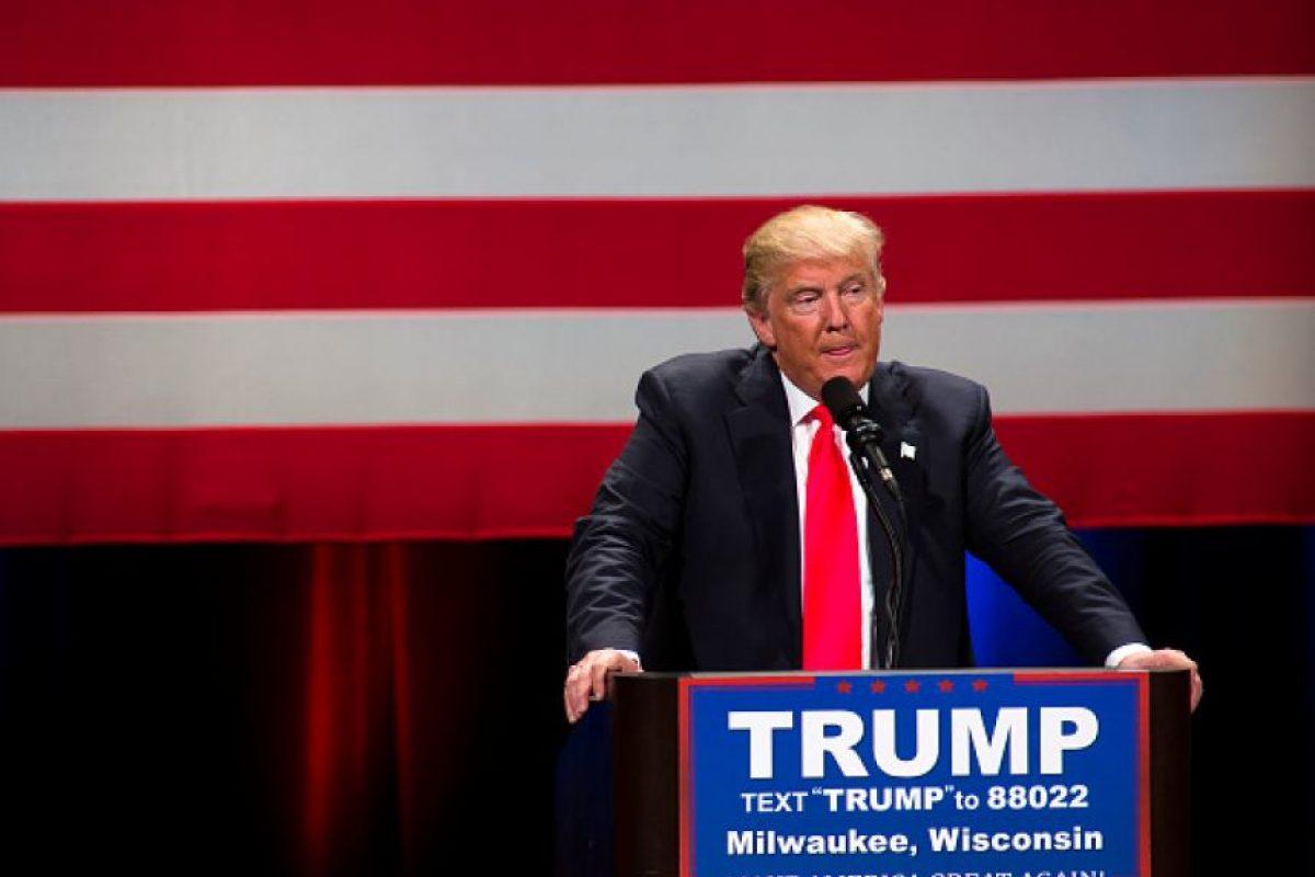 Trump anunció su campaña en medio de una serie de acusaciones en contra de los latinoamericanos Foto:Getty Images. Imagen Por: