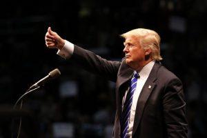 Como rechazo a sus dichos racistas Foto:Getty Images. Imagen Por: