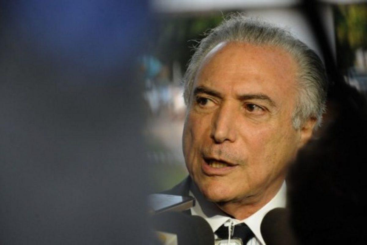 Es un abogado y político brasileño, presidente del Partido del Movimiento Democrático Brasileño. Foto:AFP. Imagen Por: