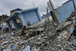 Los daños tras el terremoto del 16 de abril en Ecuador Foto:AFP. Imagen Por: