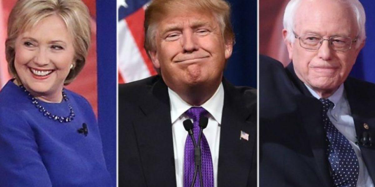 Sanders, Trump y Clinton, ¿quién es el más neoyorquino?