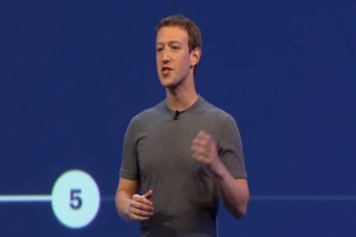 En ella, Mark Zuckerberg anunció los bots para Facebook Messenger. Foto:F8. Imagen Por: