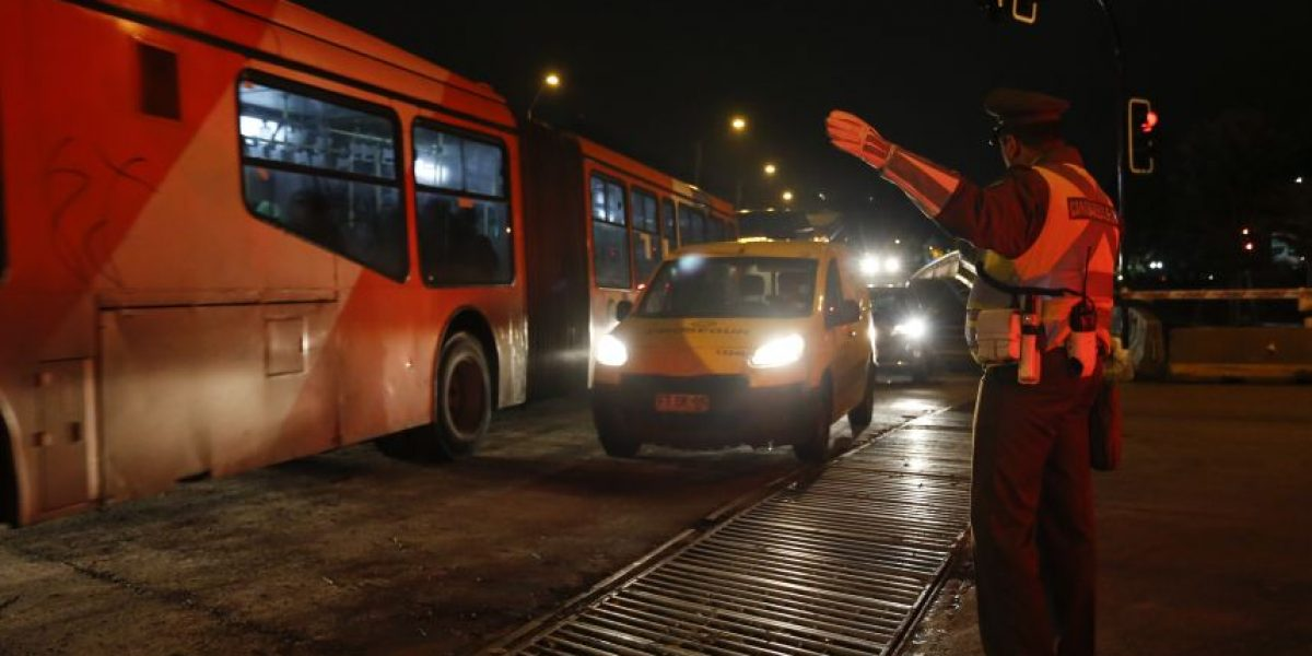 Conoce los desvíos en Santiago por el cierre de autopista Costanera Norte