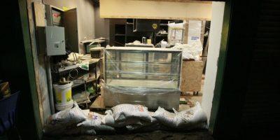 Así avanzan los trabajos de limpieza en Providencia después de la lluvia