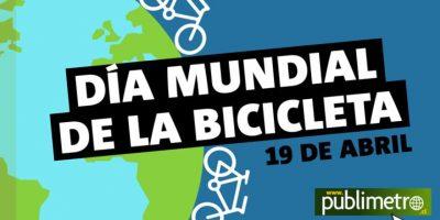 Infografía: día mundial de la bicicleta, 19 de abril