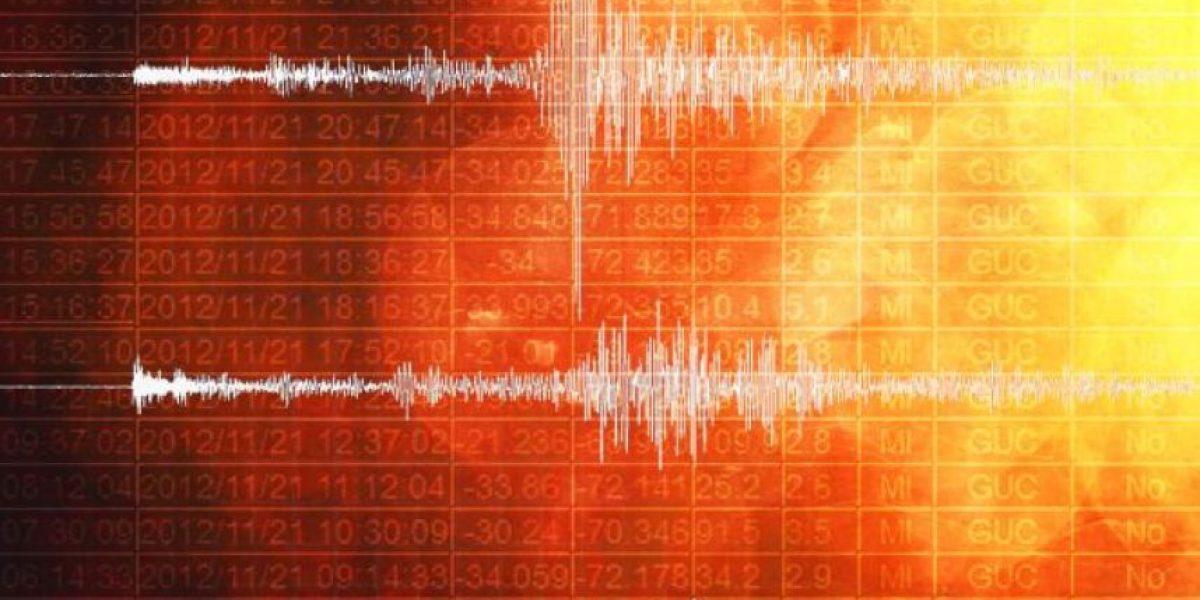 Sismo de leve magnitud se registra en la Región de Valparaíso