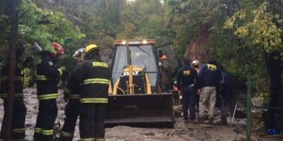 PDI halla nuevo cuerpo en Cajón del Maipo tras crecida del estero por fuertes lluvias