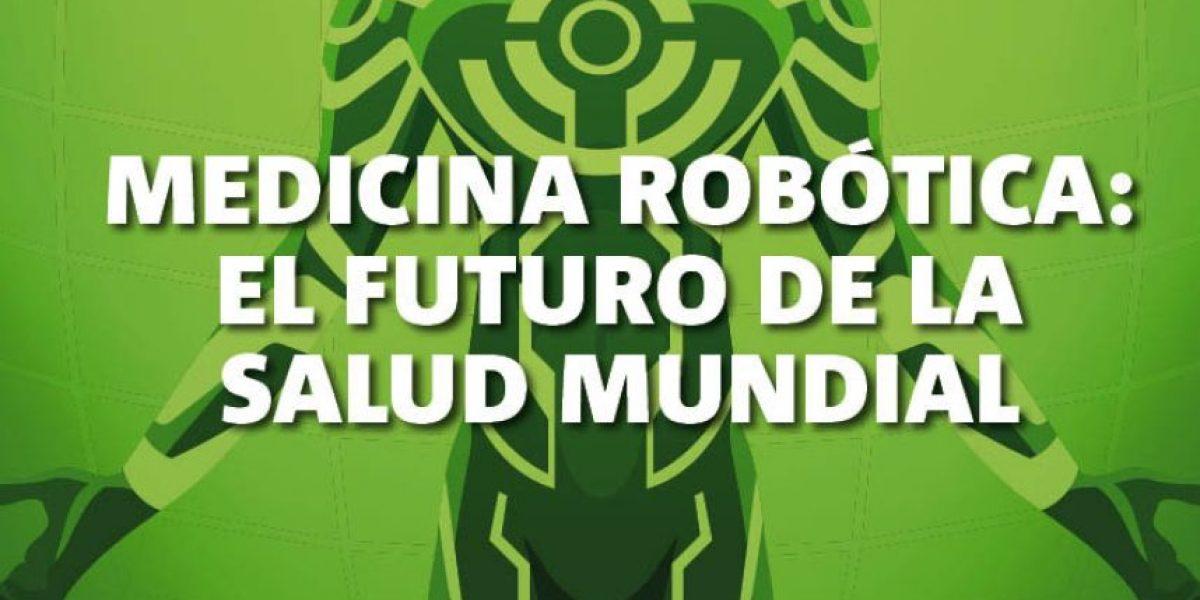 Infografía: medicina robótica, el futuro de la salud mundial