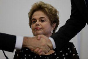 Dilma Rousseff, la cuestionada presidenta de Brasil. Foto:Efe. Imagen Por: