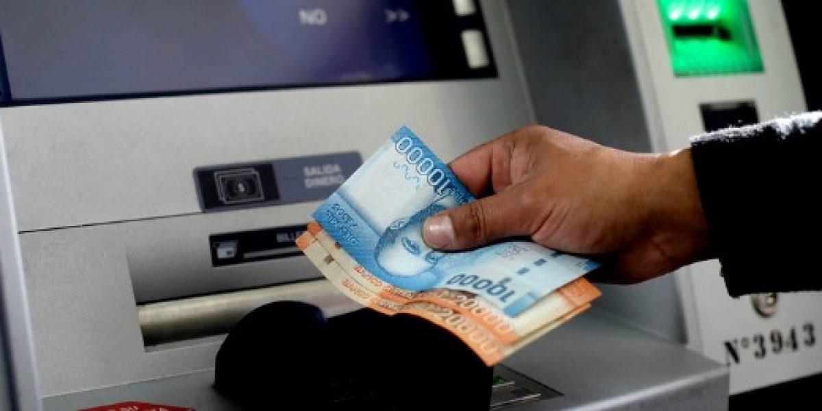 Sbif entregó balance de situación de cajeros y bancos afectados por sistema frontal