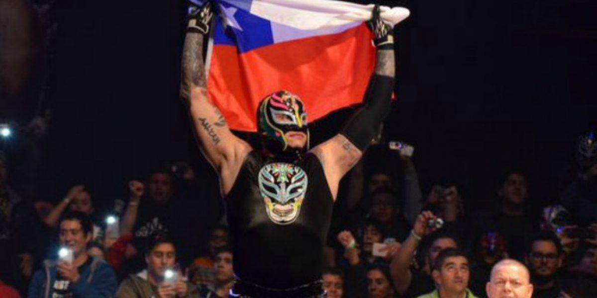 Rey Mysterio se lució en Chile con espectáculo de lucha libre Mysteriomania