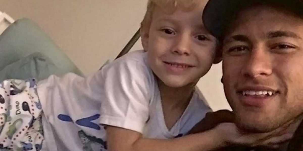 Mascotas del hijo de Neymar se llaman como estrellas del Barcelona