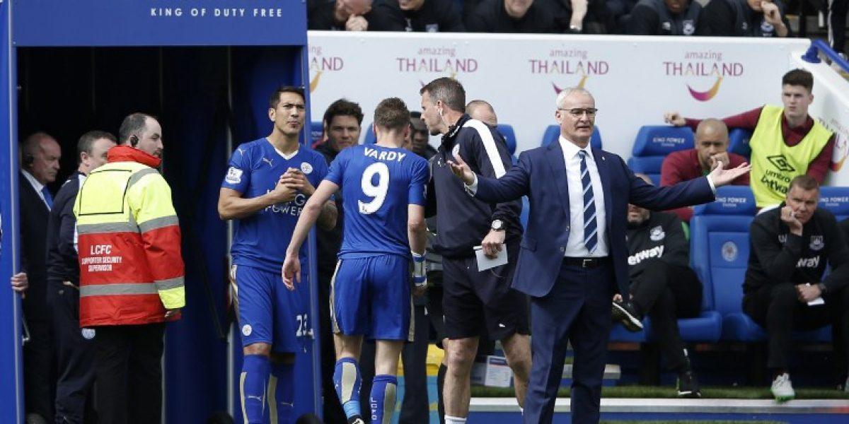 Jamie Vardy podría recibir sanción extra por su día de furia contra el árbitro