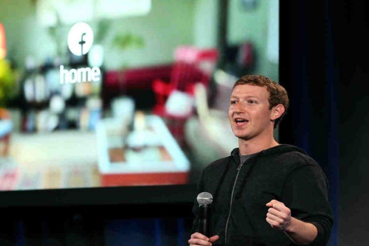 Mark Zuckerberg creó Facebook a los 19 años de edad. Foto:Getty Images. Imagen Por: