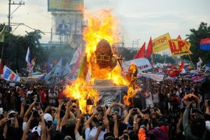 4. Las manifestaciones en el país Foto:Getty Images. Imagen Por:
