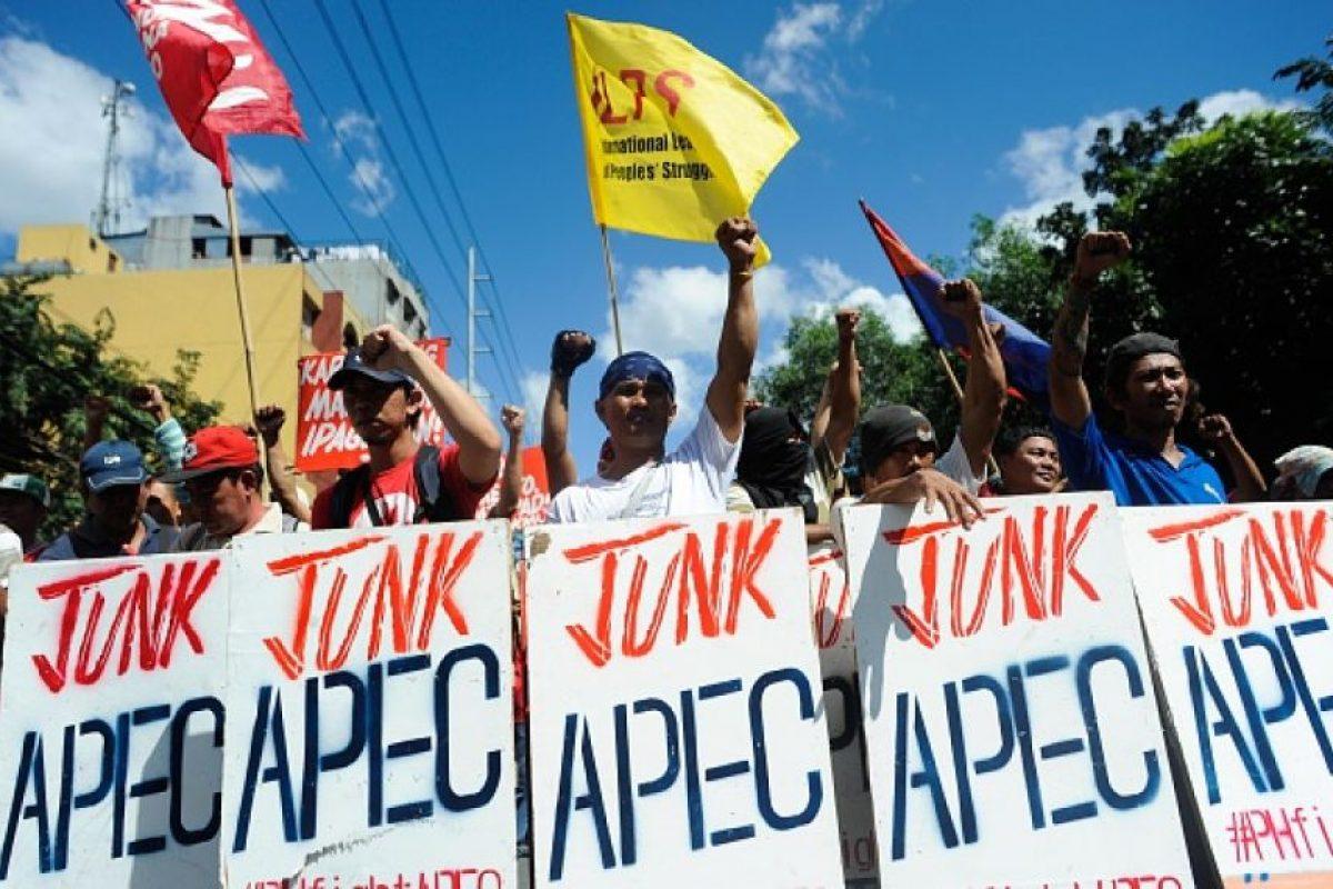 3. Las protestas en contra de la Cumbre APEC Foto:Getty Images. Imagen Por: