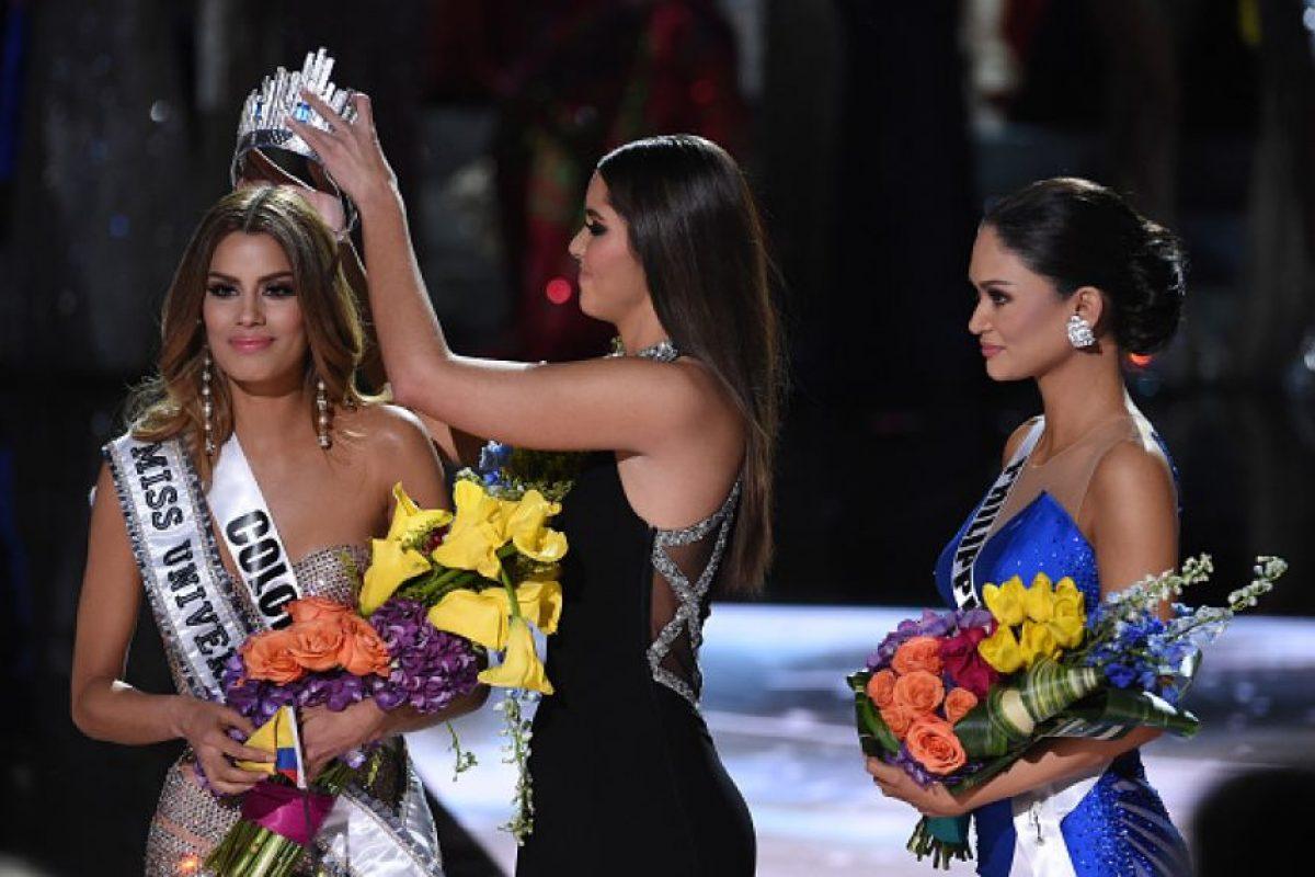 Pia Wurtzbach: Tras una confusión, Miss Filipinas fue nombrada Miss Universo para este año Foto:Getty Images. Imagen Por: