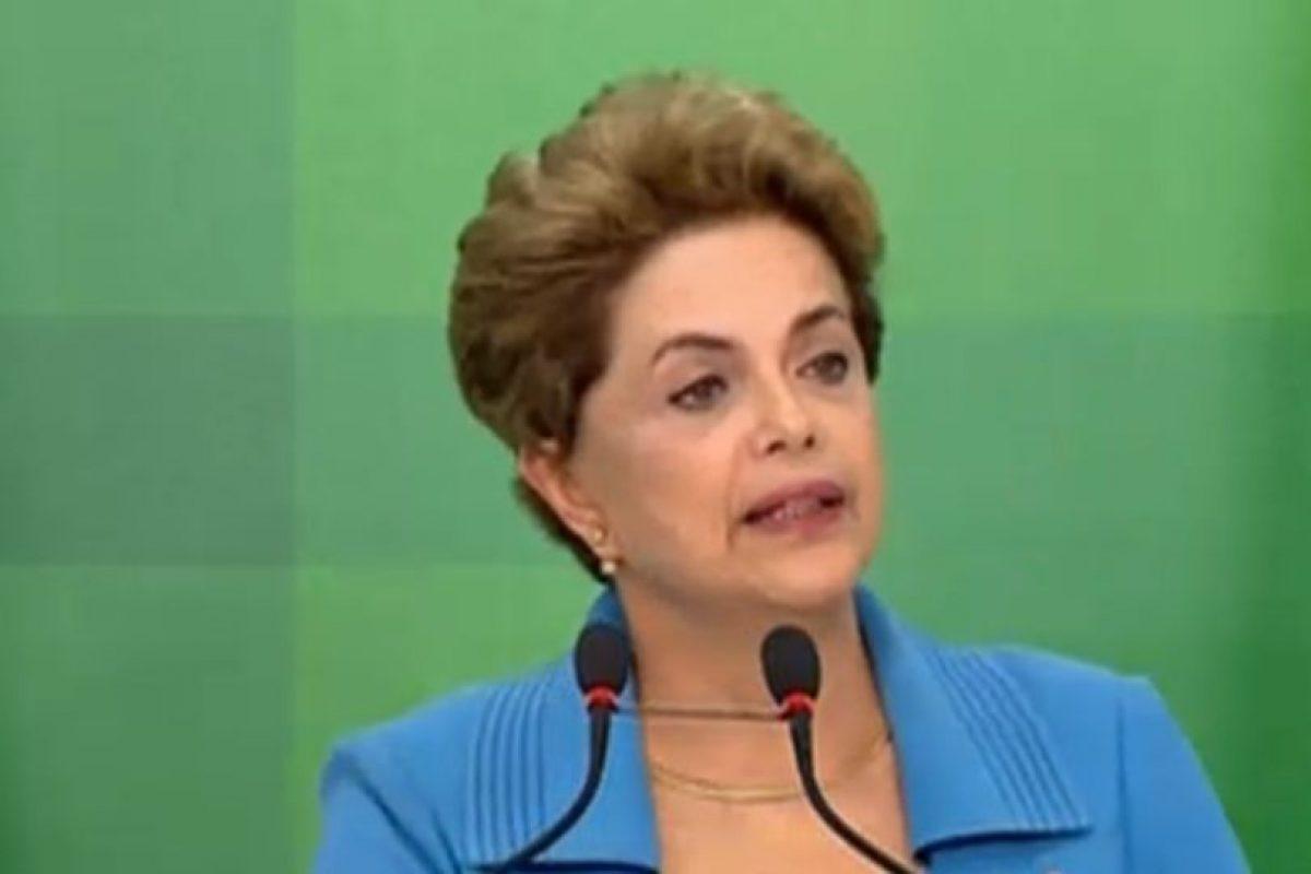 La presidenta lamenta el proceso en su contra. Foto:Tele Sur. Imagen Por: