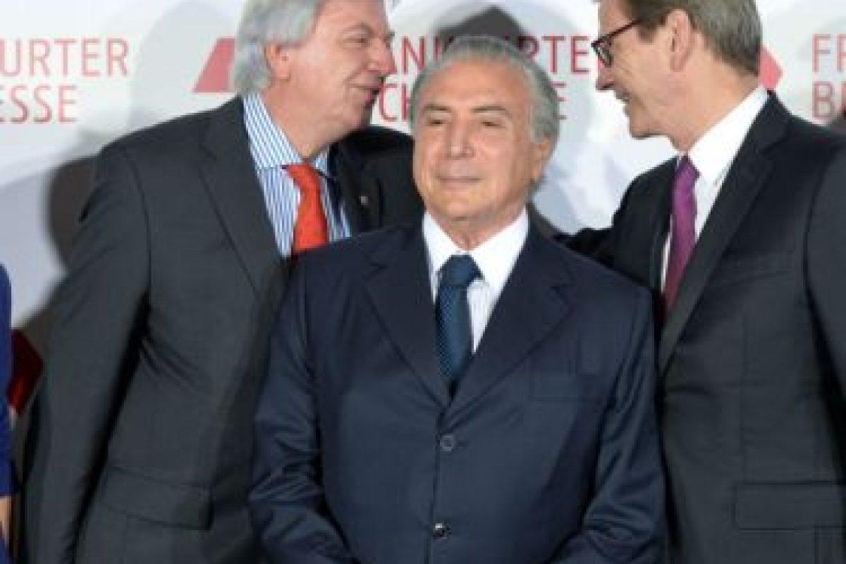 El 29 de marzo, debido a la crisis política de Brasil el PMDB, decidió dejar la coalición. Foto:Getty Images. Imagen Por: