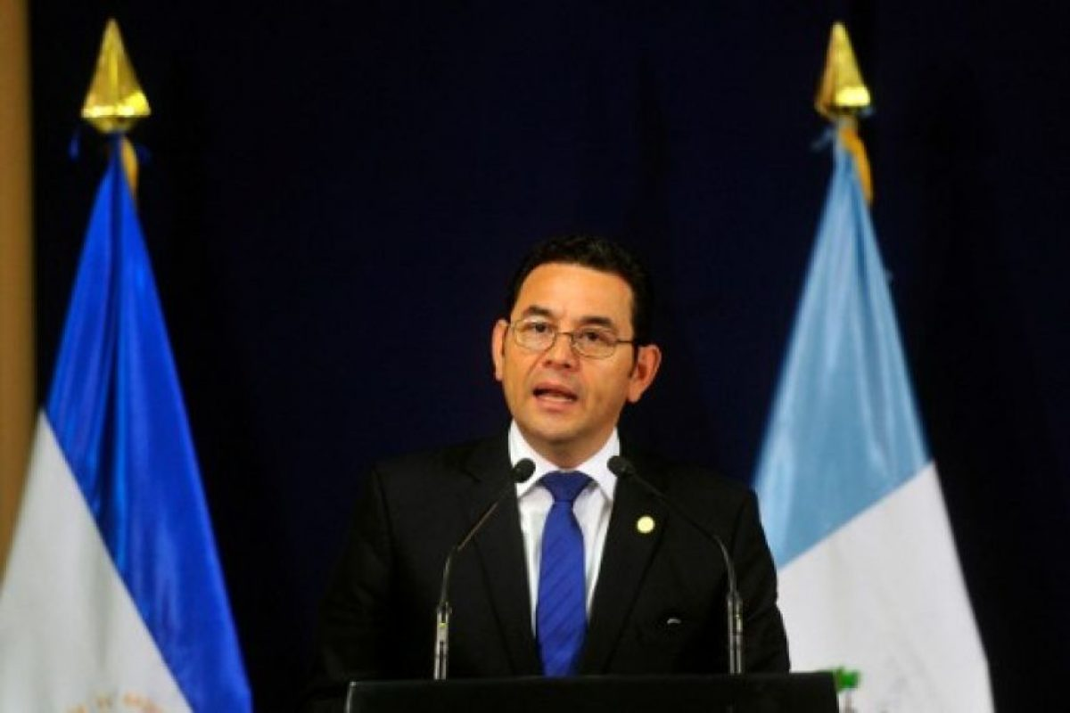 Jimmy Morales Foto:AFP. Imagen Por:
