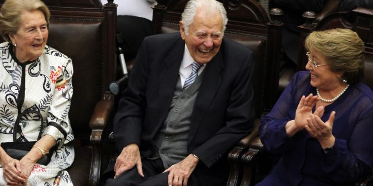 Bachelet y muerte del ex Presidente Aylwin: