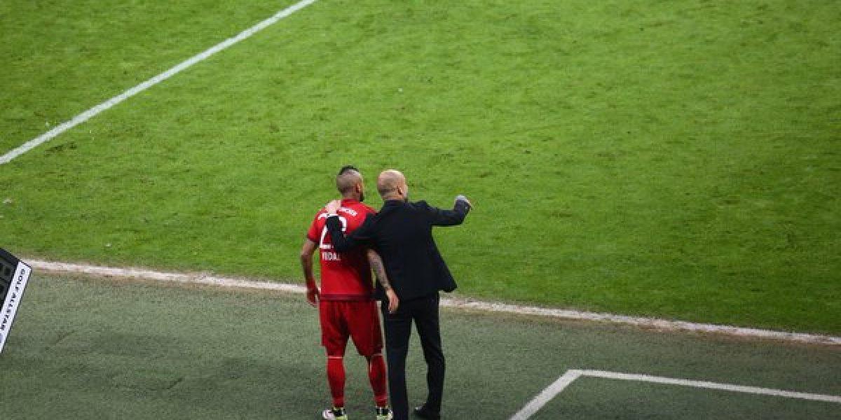 Con Vidal en el complemento, Bayern cumple el trámite y es finalista de la Copa alemana