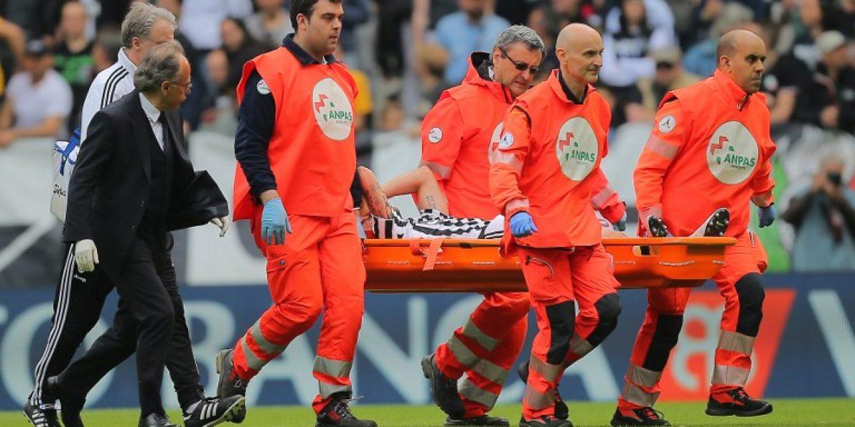 Claudio Marchisio fue operado de la rodilla y se perderá la Eurocopa